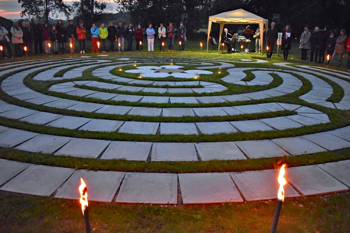 Labyrinth bosco haus